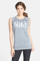 Nike Women's French Terry Muscle Tee