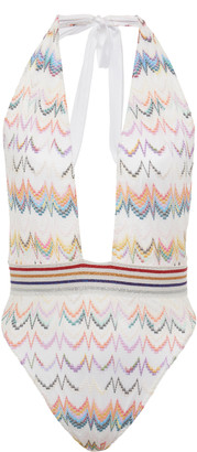 Missoni Mare Crochet-Knit One-Piece Swimsuit