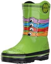 Nickelodeon Ninja Turtles Rain Boot (Toddler/Little Kid),,7/8 M US Toddler