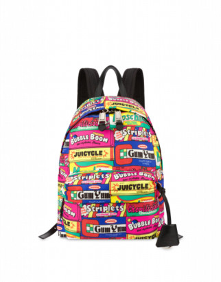 Moschino Chewingum Backpack Woman Multicoloured Size U It - (one Size Us)