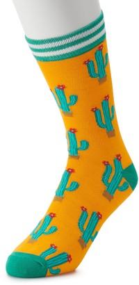 Licensed Character Men's Patterned Novelty Crew Socks