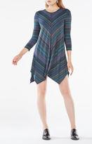 BCBGMAXAZRIA Carmela Striped Jersey Dress