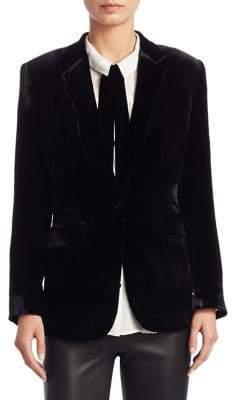 Saks Fifth Avenue COLLECTION Velvet Blazer