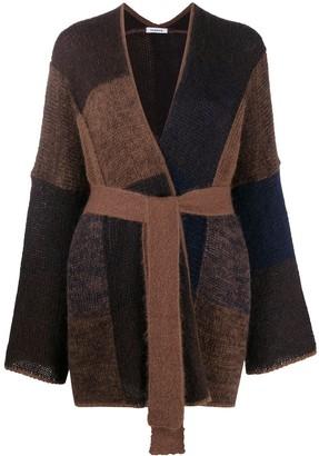 P.A.R.O.S.H. Lorain colour-block cardigan