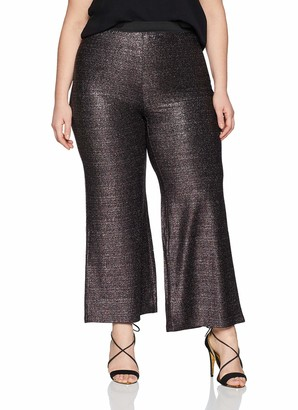 Simply Be Women's Jersey Wide Leg Trousers