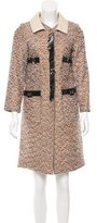 Marc Jacobs Metallic Tweed Coat