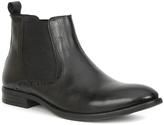 Giorgio Brutini Black Foster Leather Ankle Boot