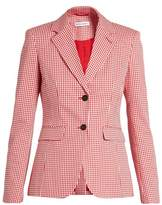Altuzarra Fenice gingham cotton-blend blazer