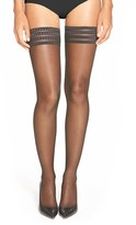 Falke Women's 'Pure Matt 20' Stay-Up Stockings