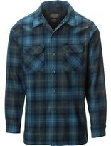 Pendleton Fitted Board Shirt - Long-Sleeve - Men's Turquiose/Green Plaid S