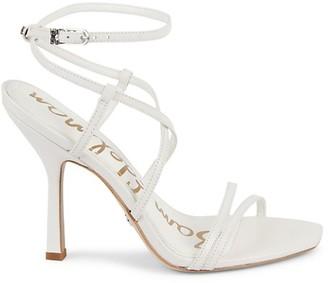 Sam Edelman Leeanne Leather Ankle-Strap Sandals