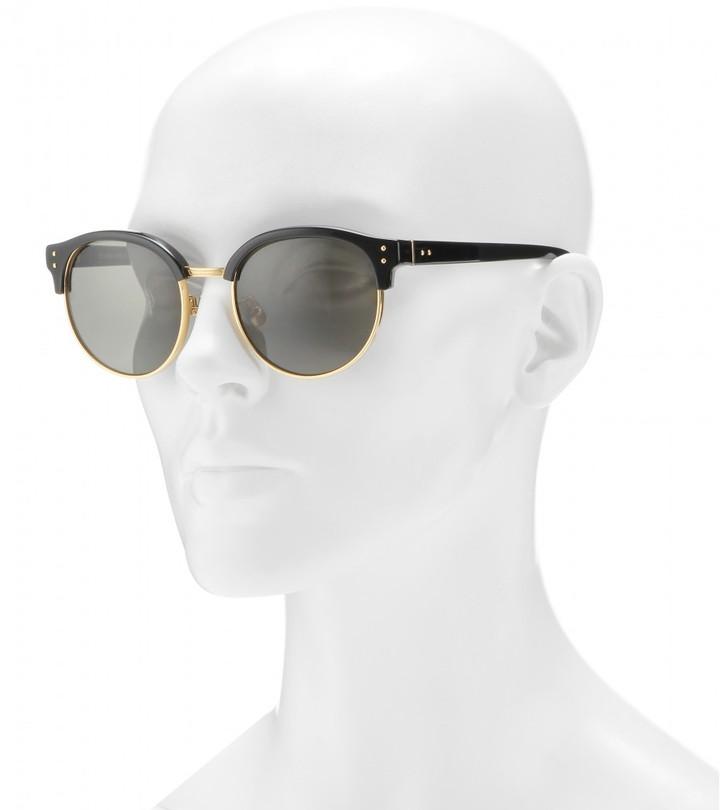 Linda Farrow Browline D-frame sunglasses