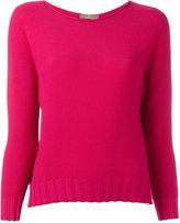 Cruciani boat neck jumper - women - Cotton - 40