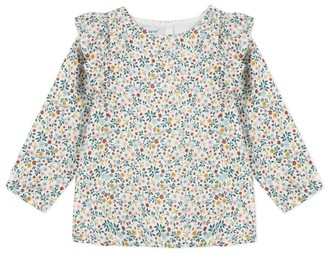 Absorba Floral Frill Top
