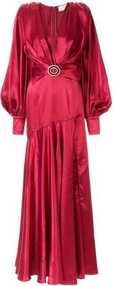 Bronx and Banco Carmen belted gown