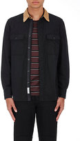 Rag & Bone Men's Jack Cotton-Wool Shirt-BLACK, TAN