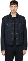 A.P.C. Indigo Denim Flynn Jacket
