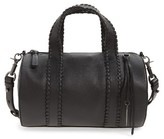 Mackage Whipstitch Leather Duffel - Black