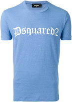 DSQUARED2 logo printed T-shirt - men - Cotton - S