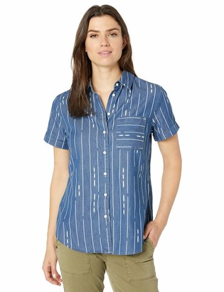 Pendleton Women's Roll Sleeve Button-Up Shirt