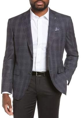Ted Baker Jay Trim Fit Plaid Sport Coat