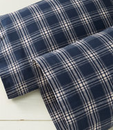L.L. Bean Ultrasoft Comfort Flannel Pillowcases, Windowpane Set of Two
