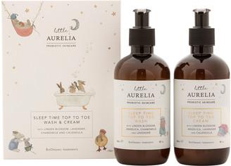 Aurelia Probiotic Skincare Little Aurelia Sleep Time Top To Toe Wash & Cream Duo