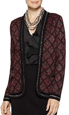 Misook Sequined Knit Jacket