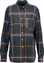 Isabel Marant Thibault checked cotton-twill shirt