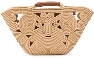 Anya Hindmarch Corded Open-Top Tote