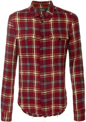 Garçons Infidèles Chest Pocket Plaid Shirt