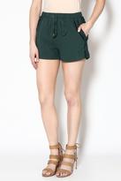 Moon River Trendy High Waist Shorts