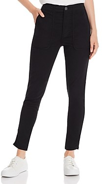 Joie Andira Patch-Pocket Skinny Pants