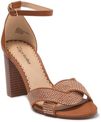 Zigi Gracelle Embellished Block Heel Sandal
