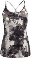 Nike Performance MILER Sports shirt black/reflective silver