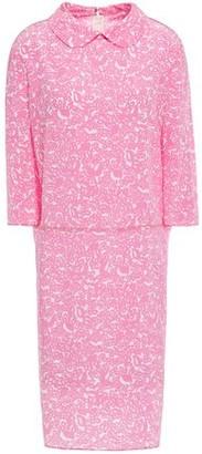 Marni Printed Silk-crepe Dress