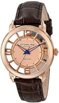 Stuhrling Original Women's 360L.1245K14 Classic Lady Winchester Swiss Quartz Brown Leather Strap Watch