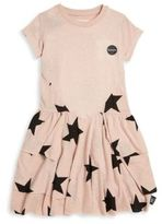 Nununu Toddler's & Little Girl's Layered Star-Print Dress