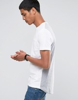 Celio Crew Neck T-shirt in Double Faced Cotton