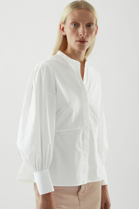 Cos Bell Sleeve Fitted Shirt