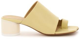 MM6 MAISON MARGIELA mules with cylinder heel