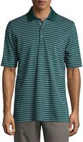 Bobby Jones Short-Sleeve Pencil-Stripe Polo Shirt, Pine