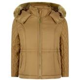 Chloé ChloeGirls Tan Padded Coat