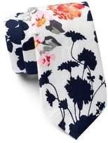 Original Penguin Moko Floral Tie