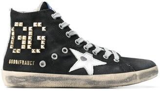 Golden Goose V-Star 1 hi-top sneakers