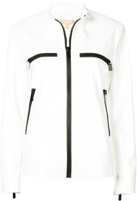 Michael Kors black trim surf jacketfu