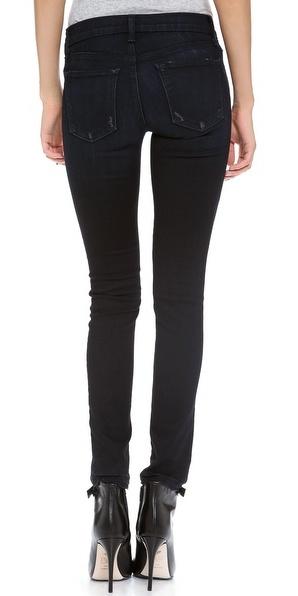 J Brand 811 Photo Ready Destructed Skinny Jeans