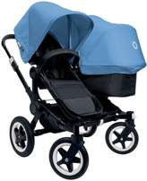 Bugaboo Donkey Complete Duo Stroller - Ice Blue - Black/Black by