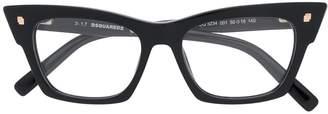 DSQUARED2 Eyewear cat eye frame optical glasses