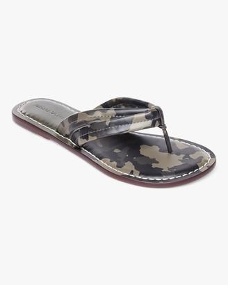 Bernardo Miami Camo Thong Sandal
